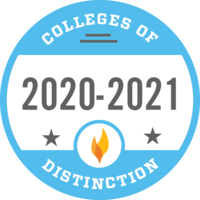 badge for Colleges of Distinction